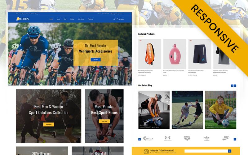 Starspo - Tema WooCommerce de la tienda de deportes