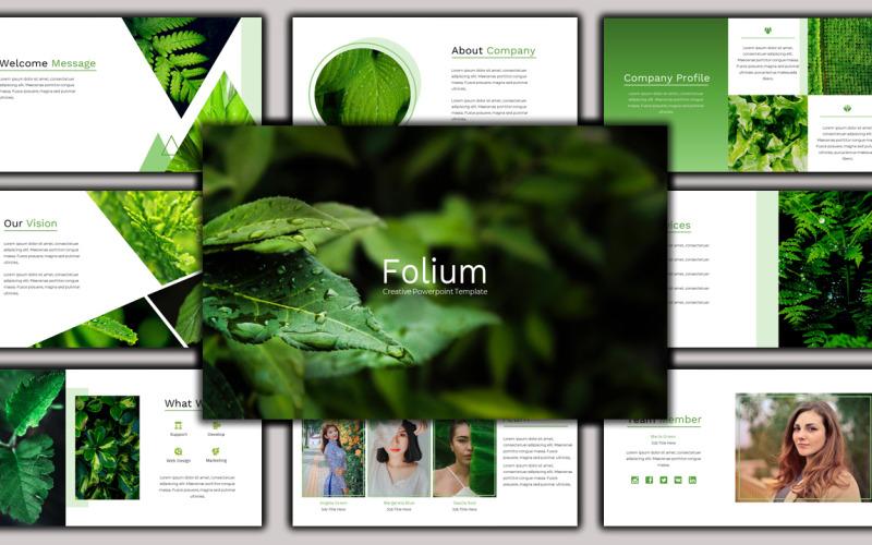 Folium - Creative Business Google Slides