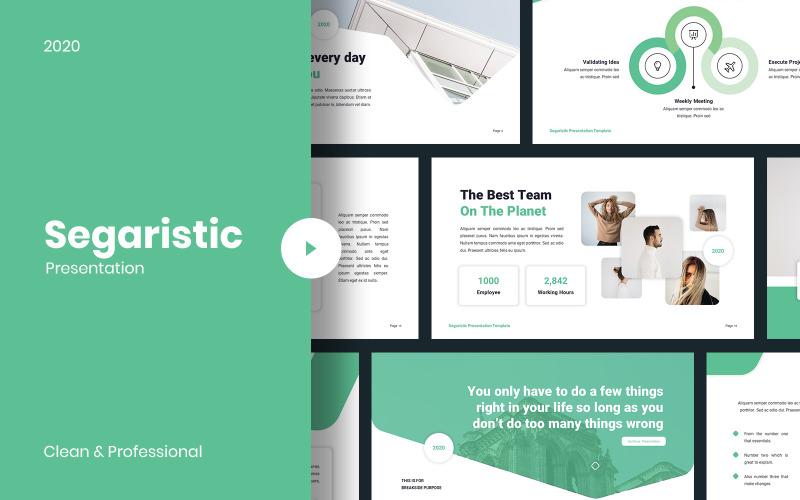 Segaristic - Zakelijke PowerPoint-sjabloon