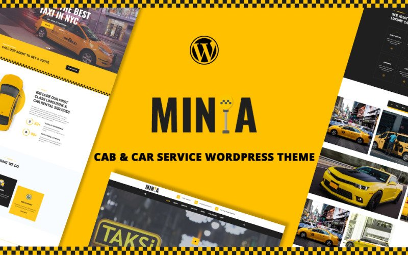 Minta | Taxi and Limousine WordPress Theme