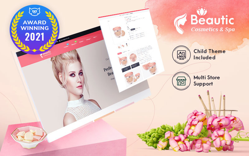 Beautic - Cosmetics & Spa - Multipurpose Responsive PrestaShop Theme