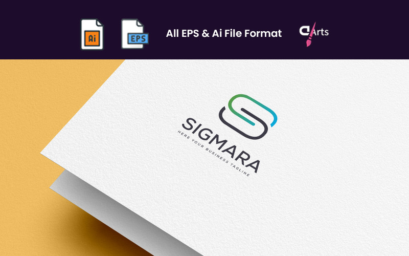 SIGMARA S Letter Logo Template