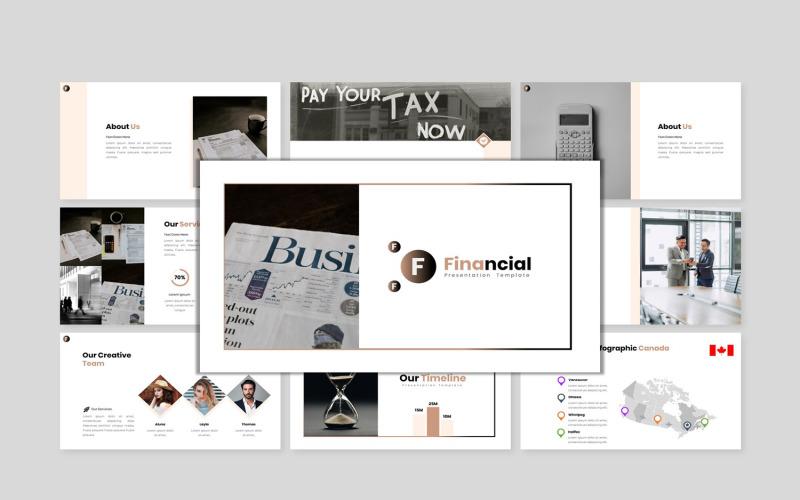 Ekonomisk rapport - Creative Business Google Slides