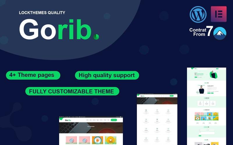 Gorib-Portfolio WordPress-tema