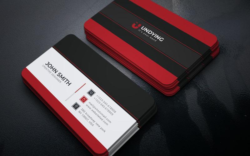 Bostrap - Визитная карточка - Шаблон фирменного стиля