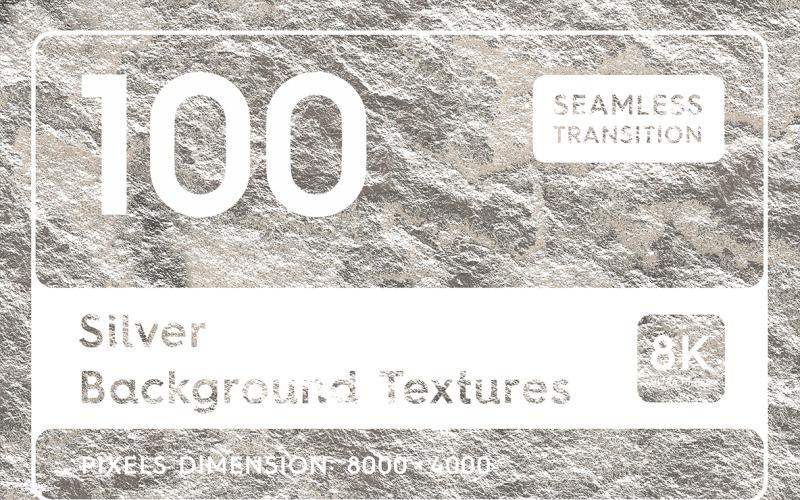 100 серебряных текстур. Плавный переход. Задний план