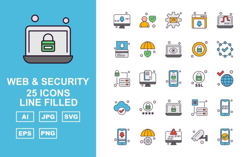 25 премиальных веб-сайтов и наборов безопасности