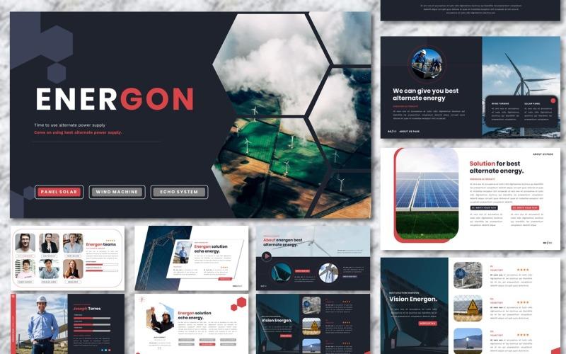 Энергон - Альтернативный источник питания Шаблоны презентаций PowerPoint