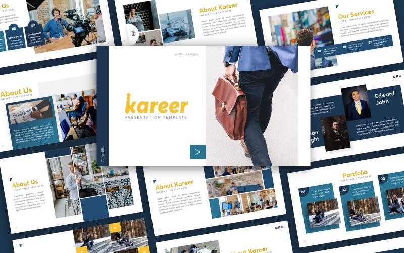 Шаблон презентации Kareer Business PowerPoint