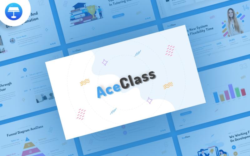 AceClass Education - шаблон Keynote
