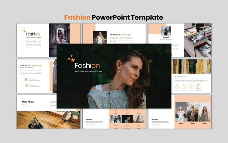 Мода - шаблон PowerPoint для современного бизнеса