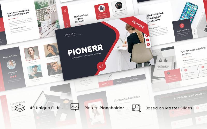 Pionerr - Multipurpose - Keynote template
