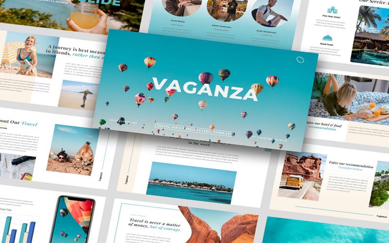 Vaganza - Шаблон PowerPoint для туристического агентства