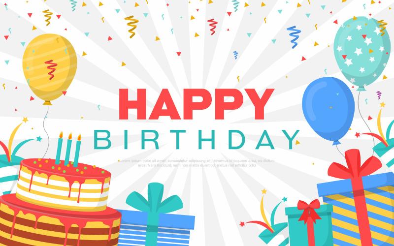Празднование дня рождения партии фон