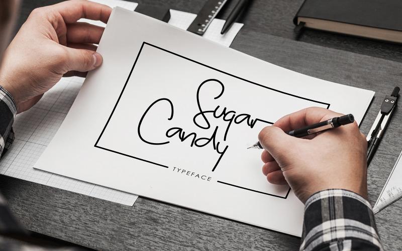 Sugar Candy - Фирменный шрифт