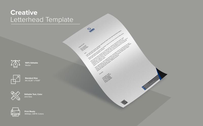 Дизайн фирменного бланка - шаблон фирменного стиля