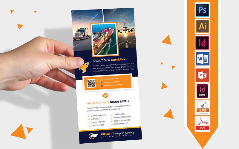 Карточка стойки | Агентство грузовых перевозок DL Flyer Vol-02
