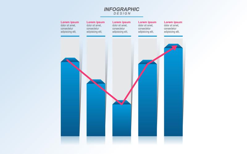 Vylepšené zotavení prvků ekonomické infografiky