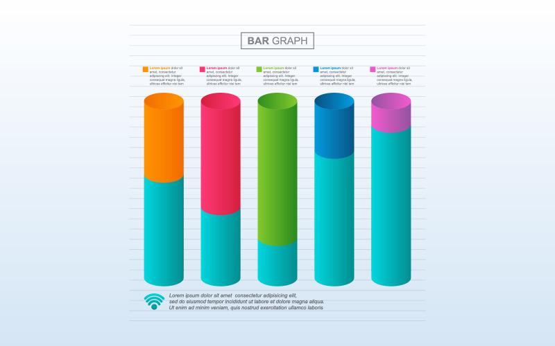 Улучшение восстановленных элементов инфографики графика кризиса