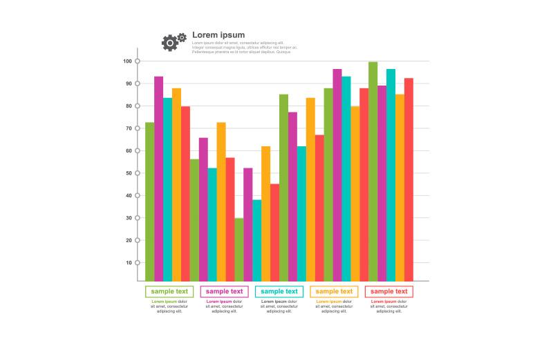Улучшенные элементы инфографики для восстановленных данных