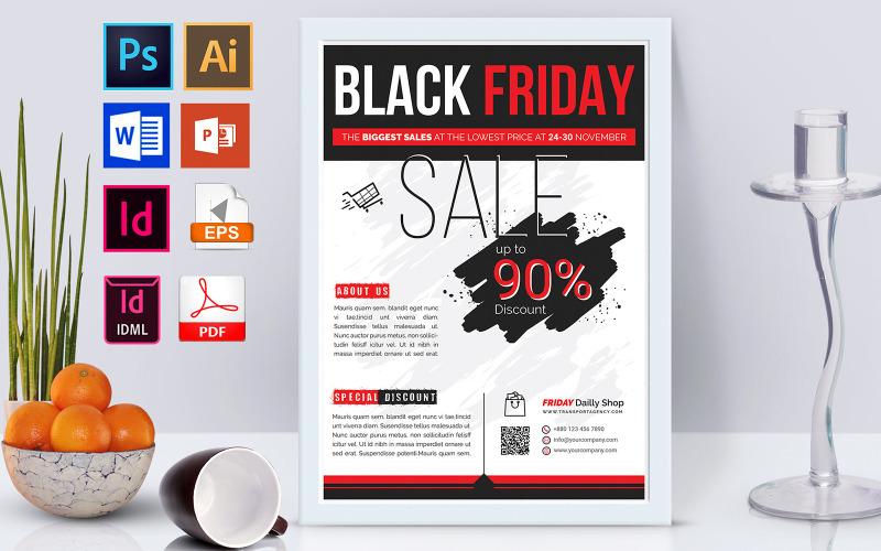 Плакат | Black Friday Sale Vol-01 - Шаблон фирменного стиля