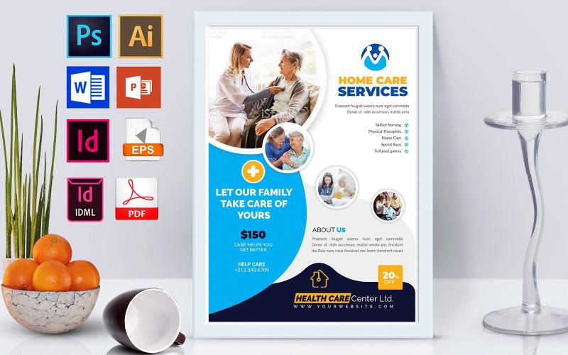 Плакат   Home Doctor Care Vol-02 - Шаблон фирменного стиля