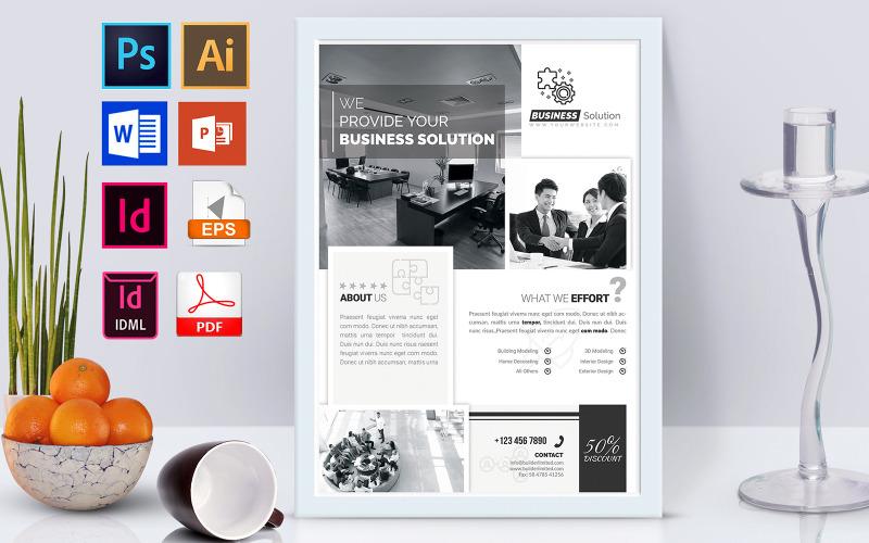 Плакат | Minimal Business Vol-02 - Шаблон фирменного стиля
