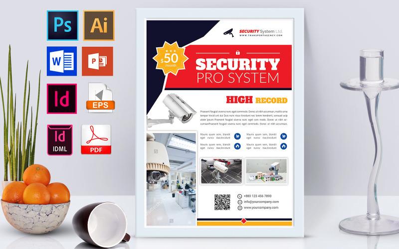 Плакат | Security System Vol-03 - Шаблон фирменного стиля
