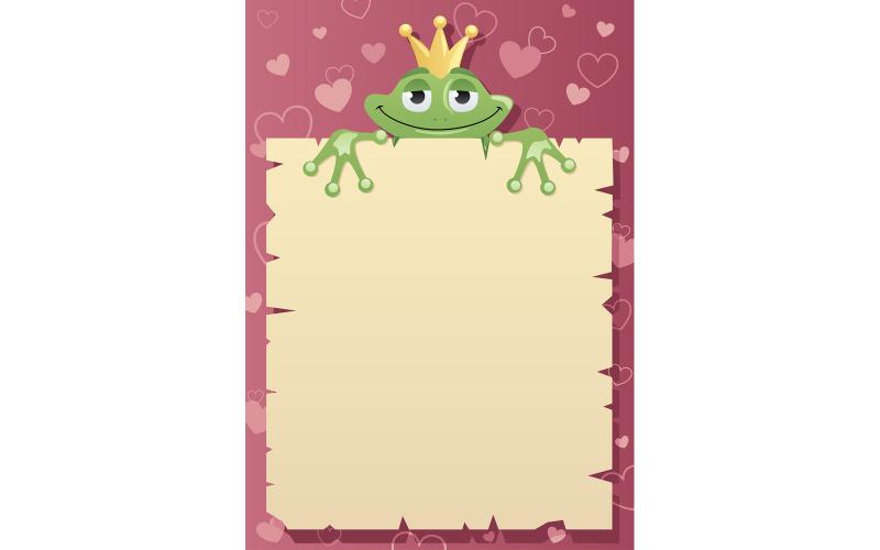 Frog Prince Letter - Illustration