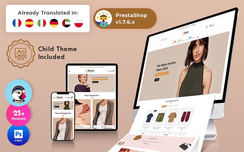 Emily - Tema PrestaShop de moda multipropósito