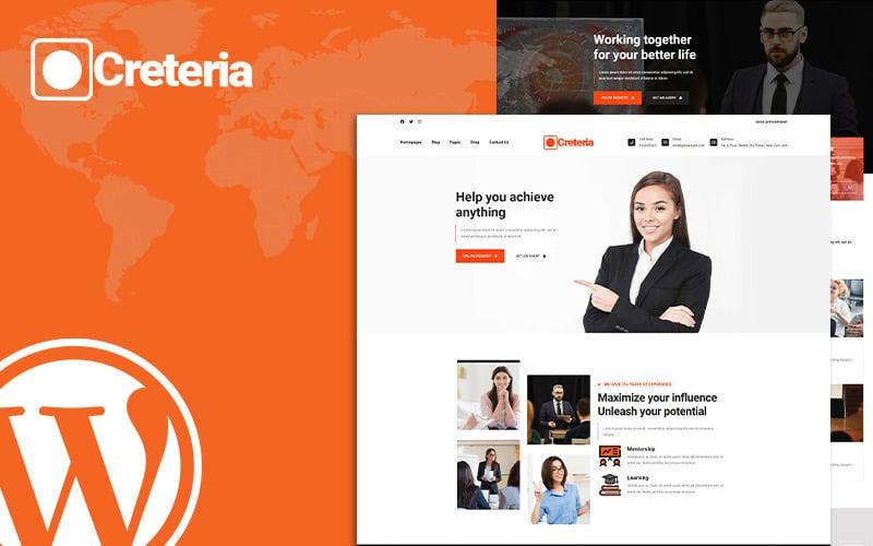 Creteria Modern Digital Agency WordPress Theme