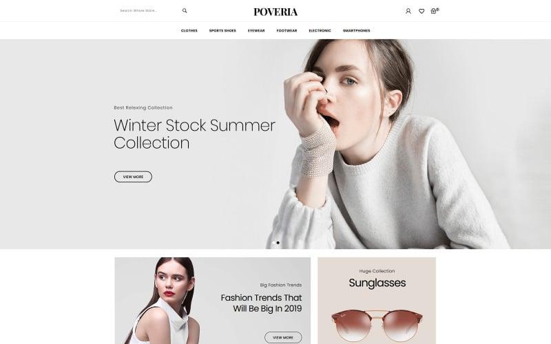 Poveria-时尚配饰商店PrestaShop主题