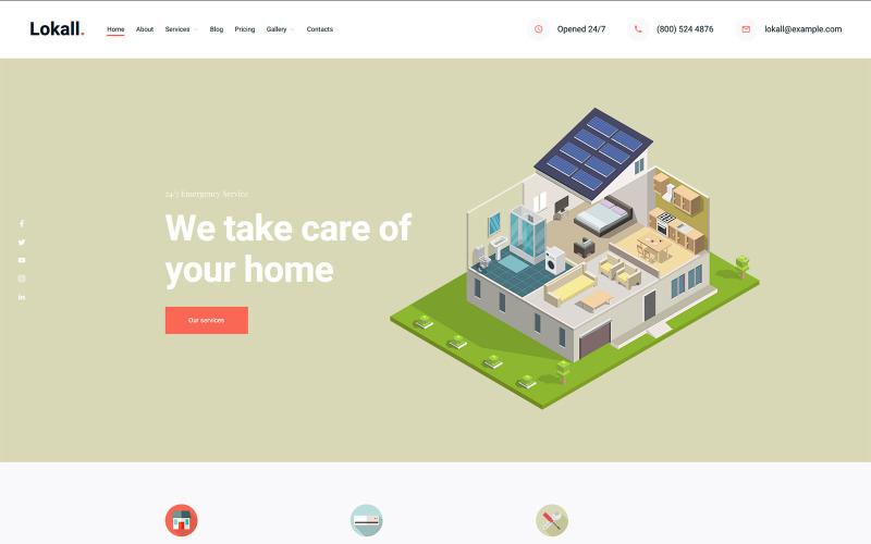 Lokall - Small Business Gutenberg WordPress Theme