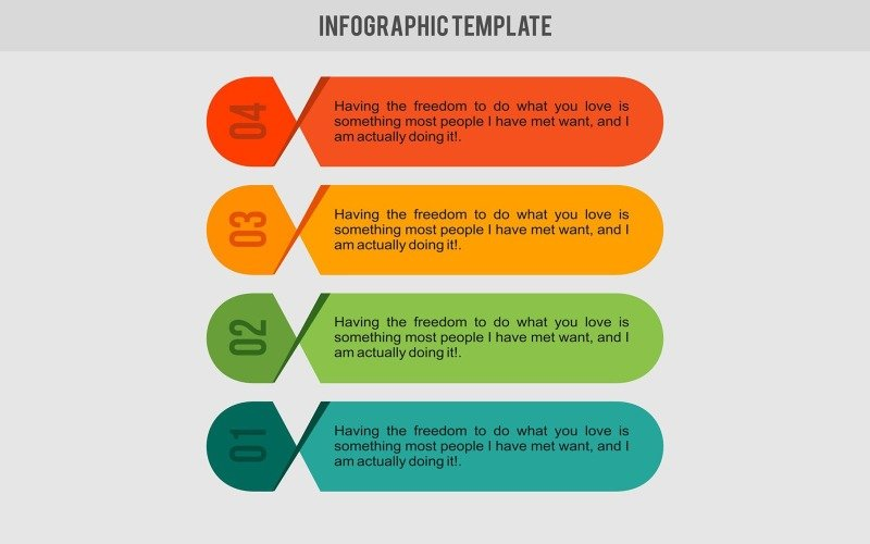 Banner template Infographic Elements