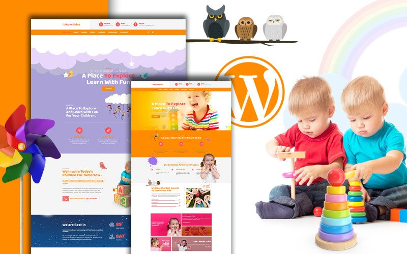 Munchkins - Preschool WordPress Theme