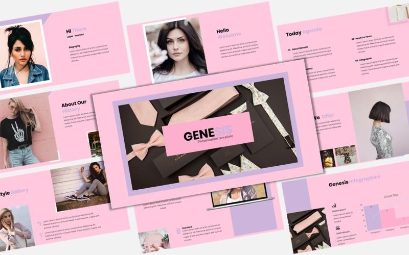 Genesis - Creative Business - Keynote template