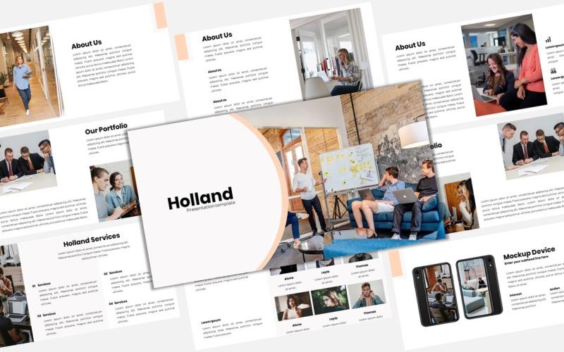 Holland - Kreativa företag Google Slides