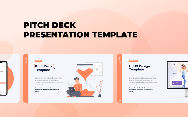 Pitch Deck - Animated - Keynote template