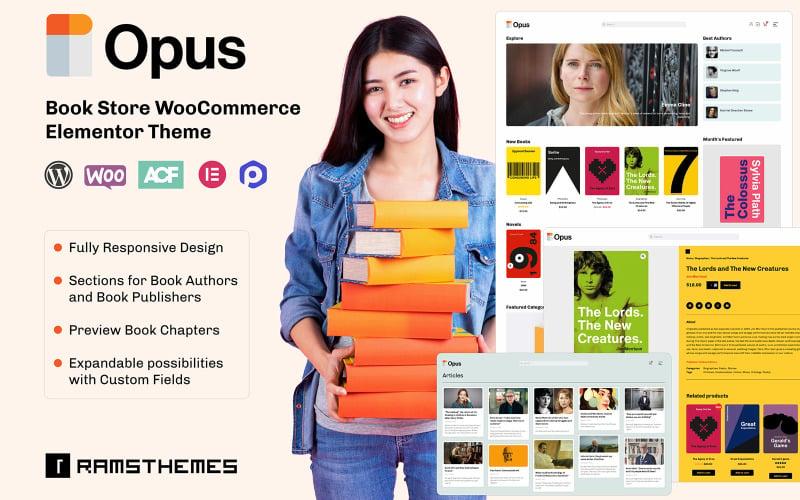OPUS - Book Store WooCommerce Theme