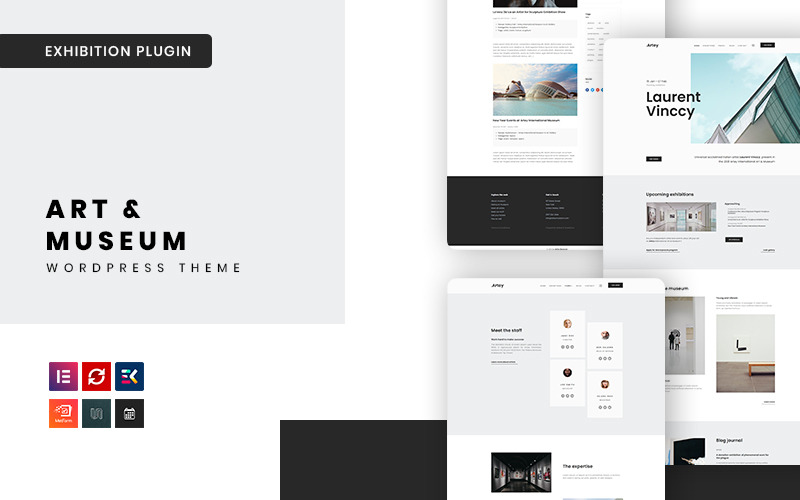 Artey - Kunst & Museum WordPress Theme