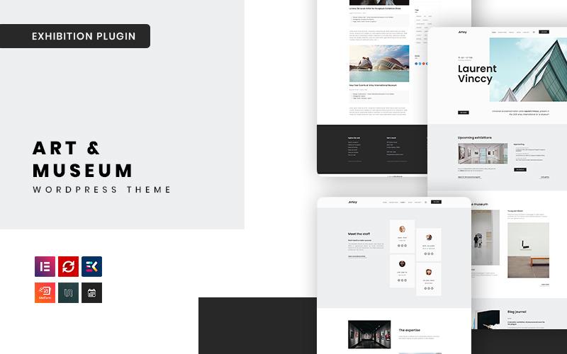 Artey - тема WordPress для художников и музеев