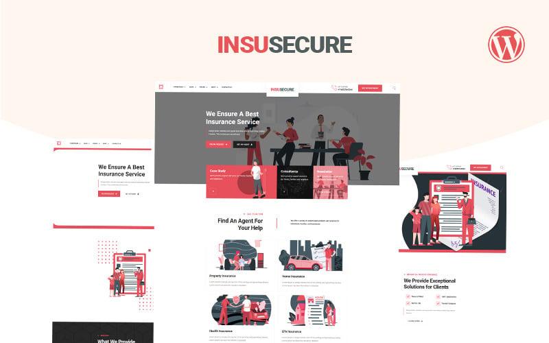 Insusecure Multipurpose insurance WordPress Theme