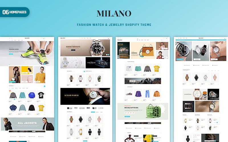 Milano - Divat és kiegészítők PrestaShop téma