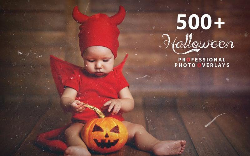 Oltre 500 sovrapposizioni di foto di Halloween - Illustrazione