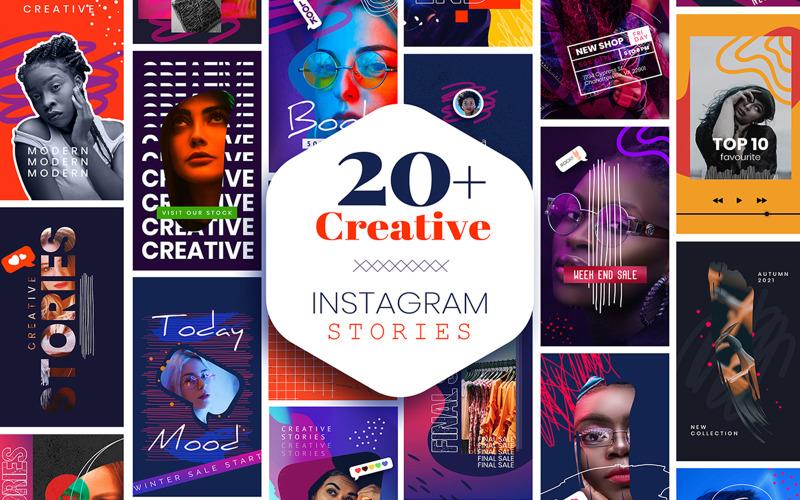 Креативные истории в Instagram
