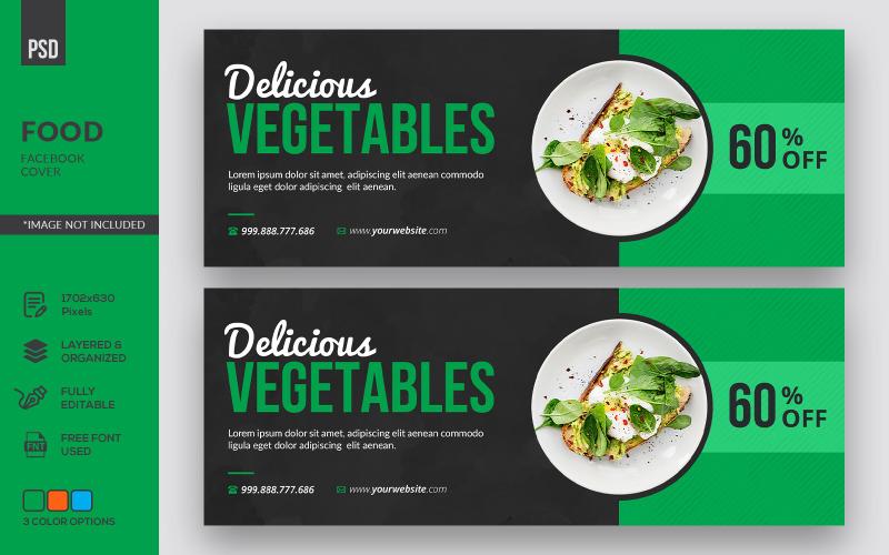 Обложка Facebook Creative Food
