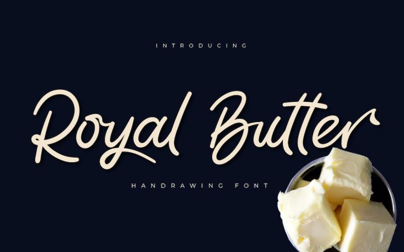 Royal Butter Schriftart