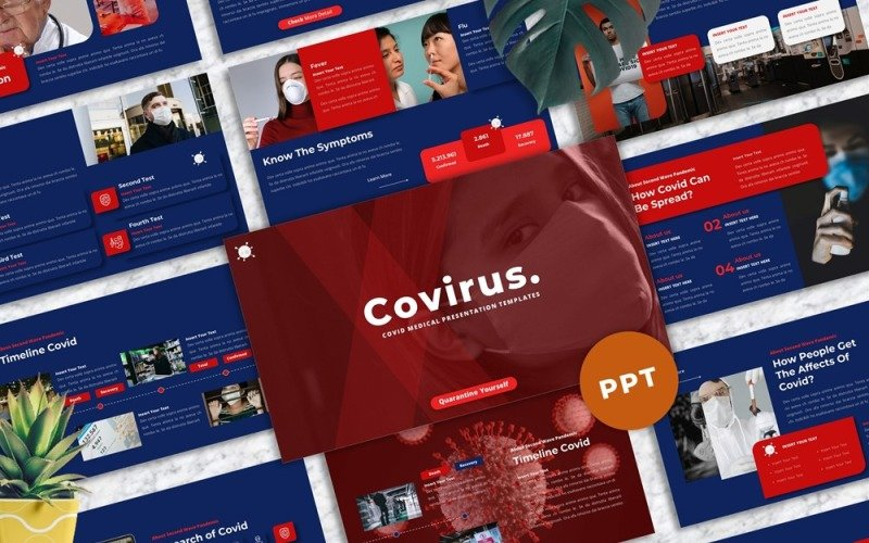 Covirus - Covid Medical Powerpoint