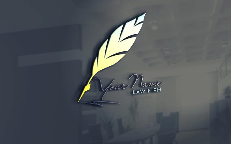 Logo-Vorlage für Anwaltskanzleien