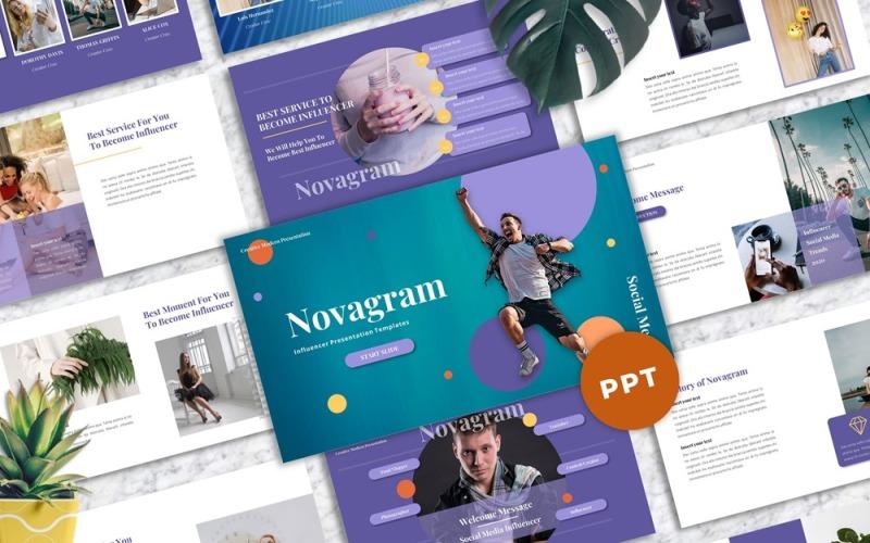 Novagram - Інфлюенсер Powerpoint